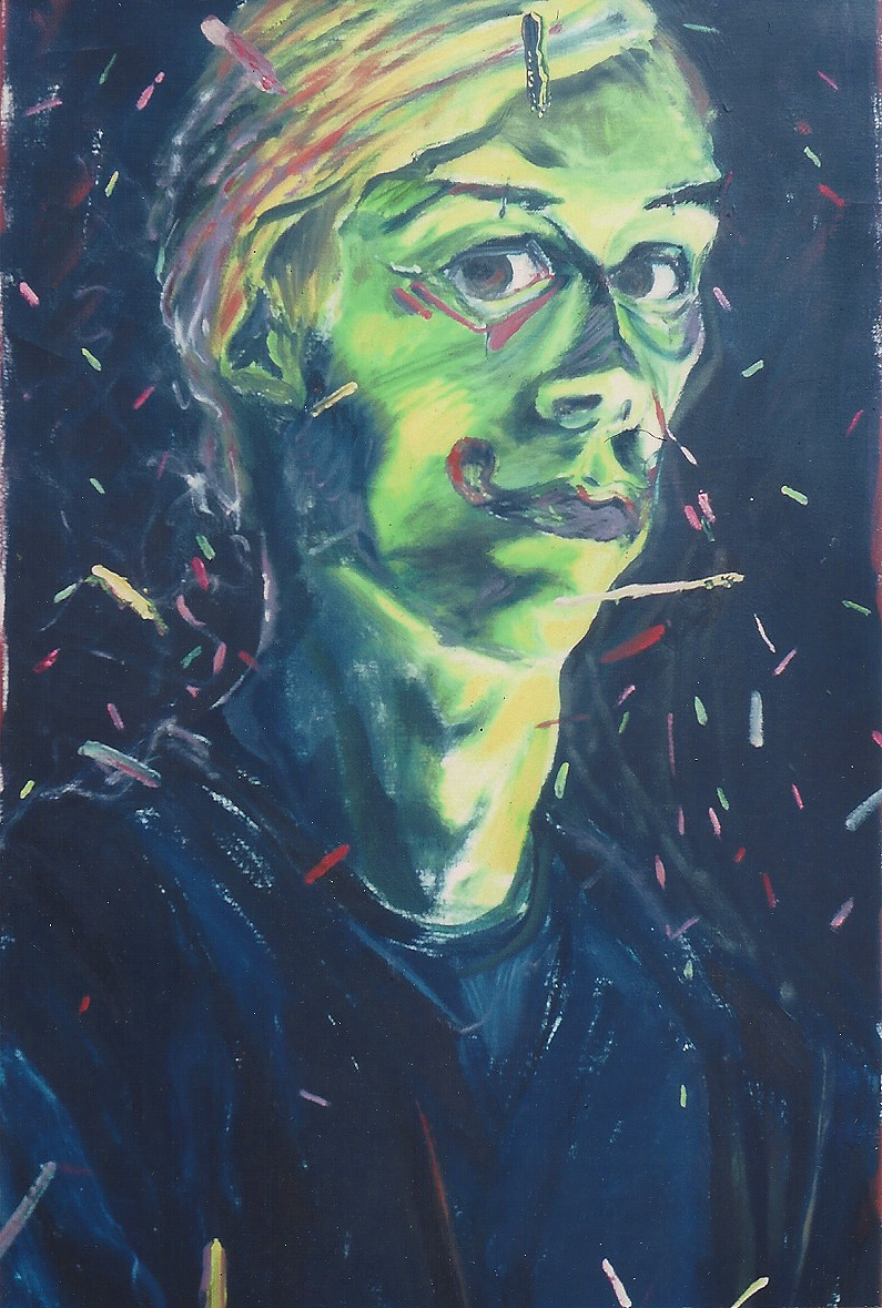 Self Portrait – oil paint on canvas