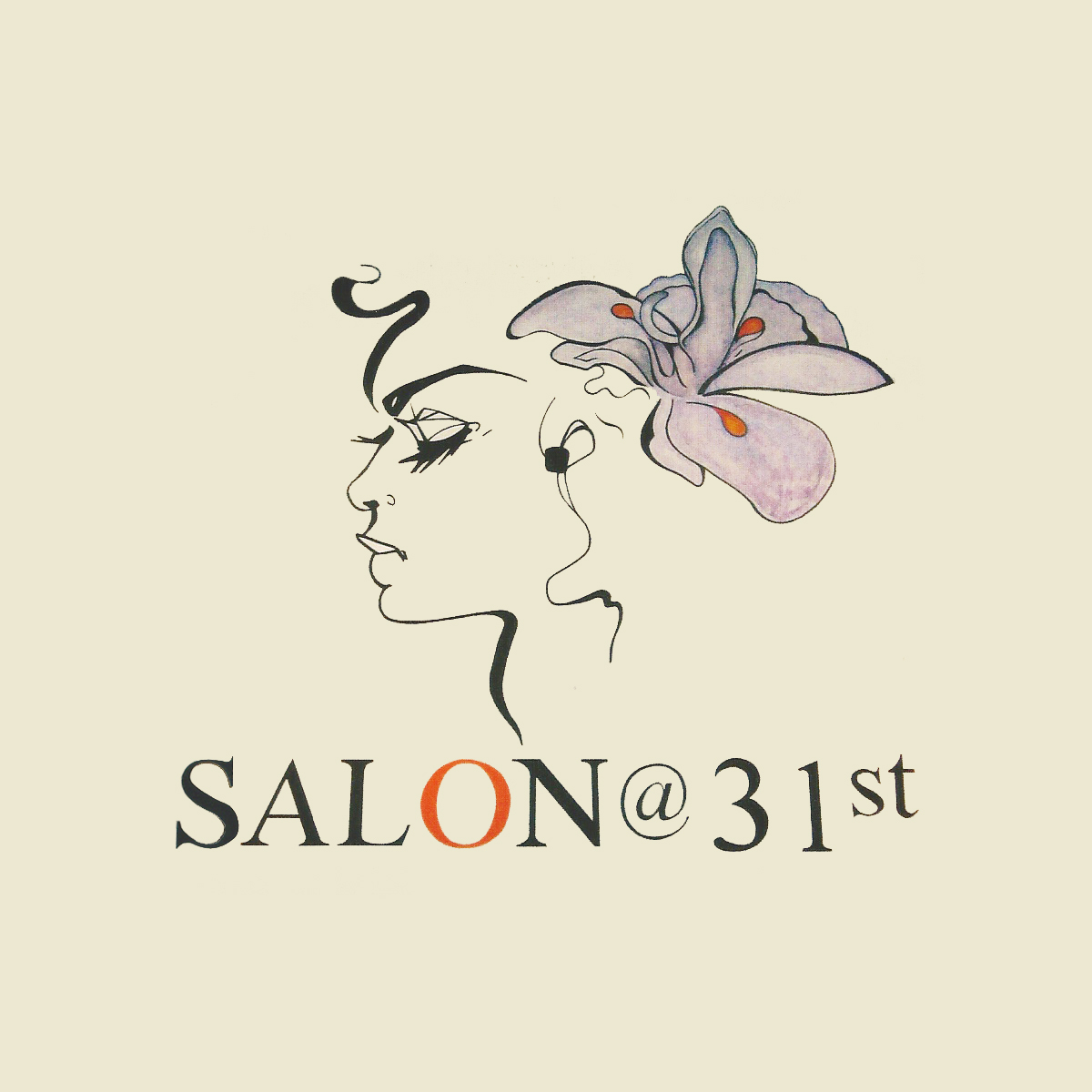 Salon 31 –  latex & watercolor mural