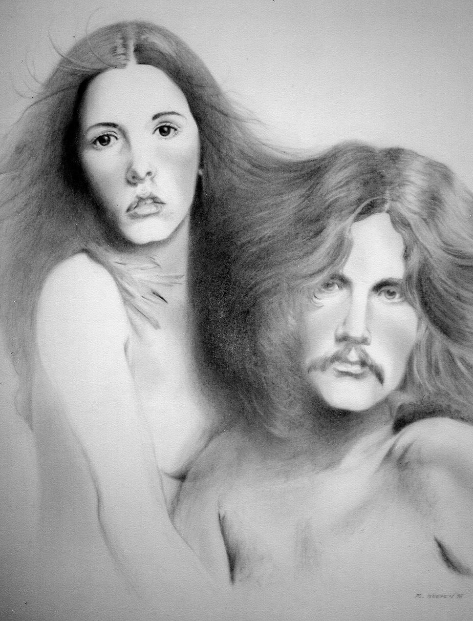 Buckingham Nicks – graphite