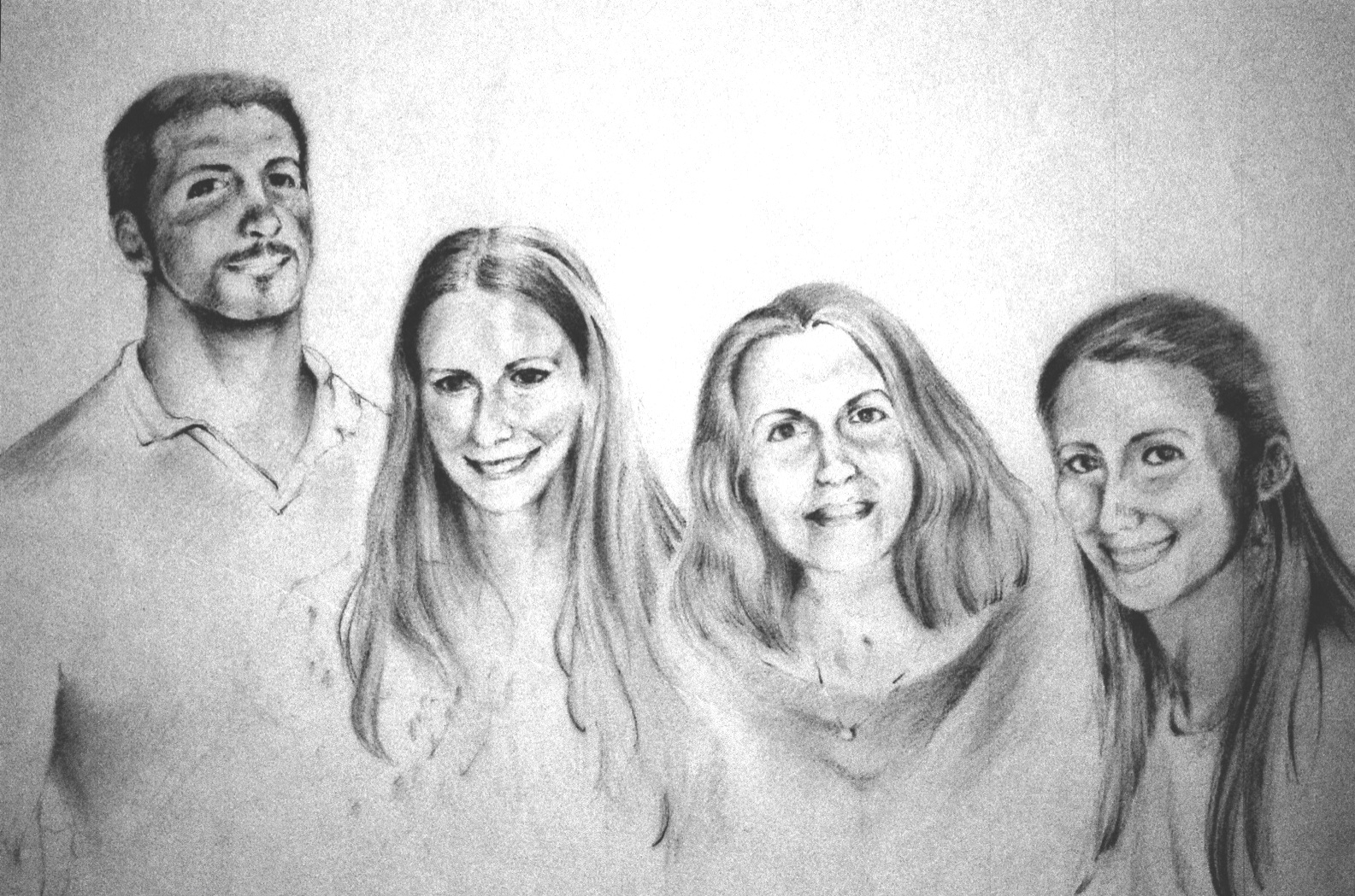 Family Portrait – Graphite