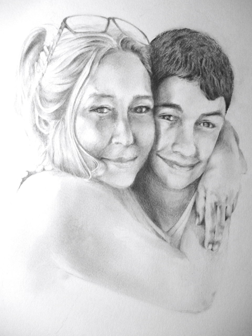Mother & Son – Graphite