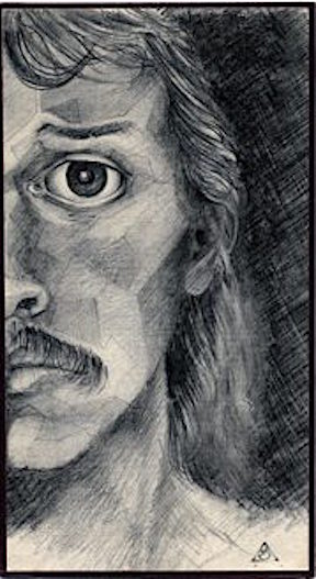 Self Portrait 82 – Graphite